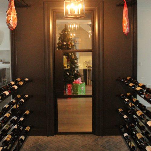 Climatized wine room